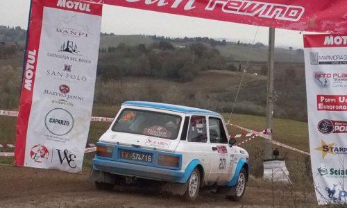 "Trofeo A112 Abarth Yokohama: Scalabrin si aggiudica la ""Coppa Terra "" al Tuscan Rewind."