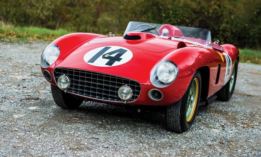 Venduta la Ferrari 290 MM con cui corse sia Fangio che Moss.