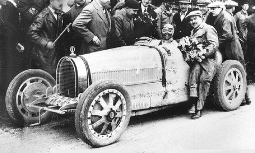 Bugatti, 90 anni fa prima stagione grandi successi sportivi.