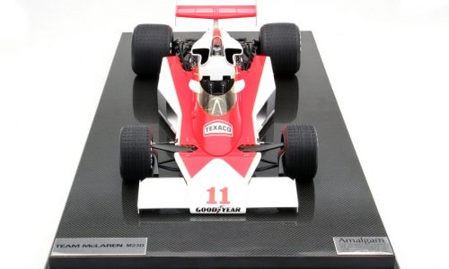 La McLaren F1 di James Hunt in miniatura.
