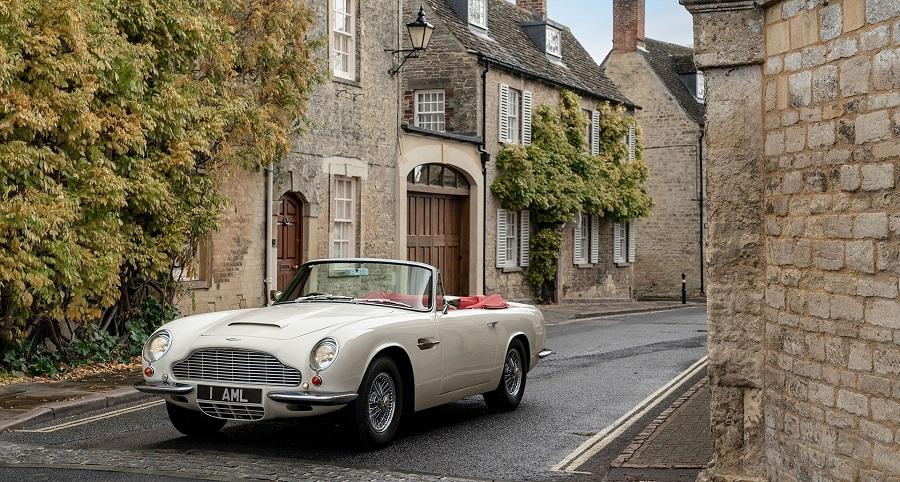 Aston Martin avvia elettrificazioni degli esemplari storici.