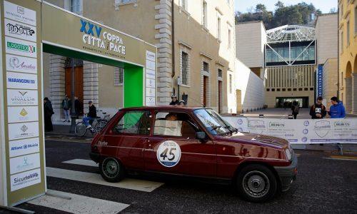 La «Coppa Città della Pace» è la prima del Campionato italiano di regolarità.