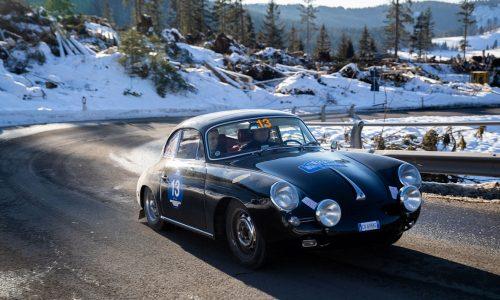 Barcella-Ghidotti su Porsche 356 C Coupé del 1963 vincono la Winter Marathon 2019.
