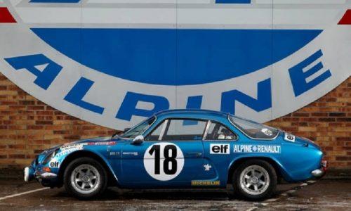 Alpine al Rallye di Montecarlo Historique contro il tumore al seno.