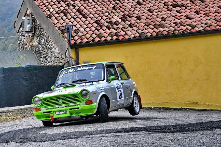 Al Lessinia Rally Historic un premio speciale per le piccole A112 Abarth.