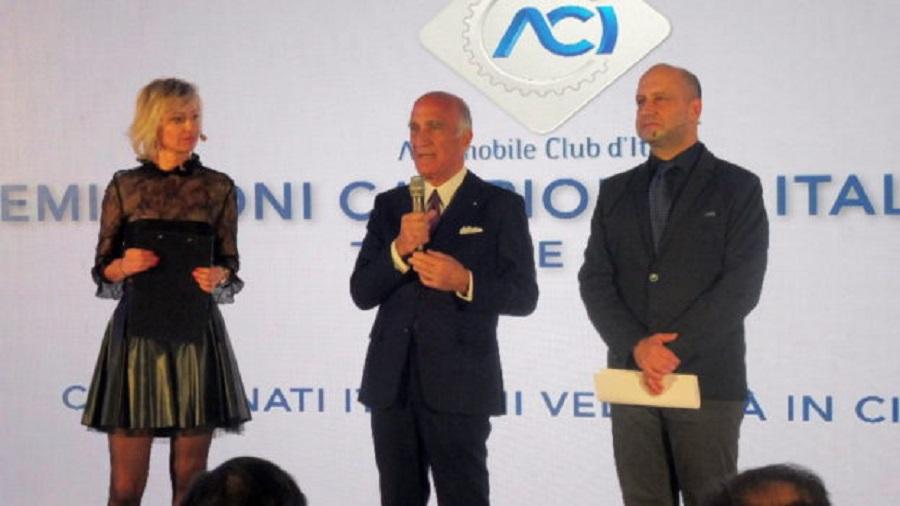Grande Successo per la premiazione dei Campionati Italiano dell'Automobilismo.