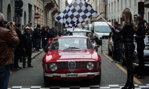 Coppa Milano-Sanremo, 70 auto fra Lombardia, Piemonte e Liguria.