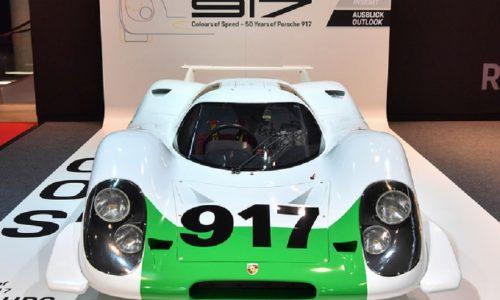 Mostra al Museo Porsche celebra i 50 anni della iconica 917.