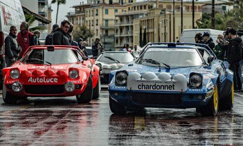 Lancia Strato's Meeting a Sanremo.