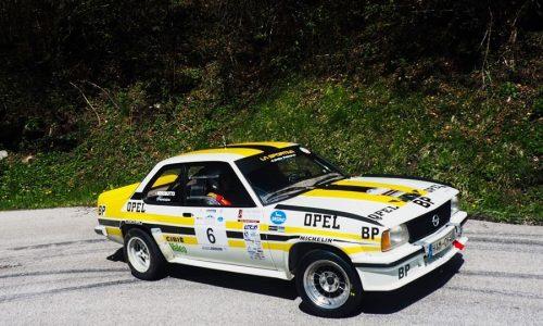 Tiziano e Francesca Nerobutto vincono il 9° Valsugana Historic Rally.