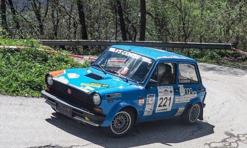 Fiora –Soffritti vincono al Valsugana Historic Rally il Trofeo A112 Abarth.