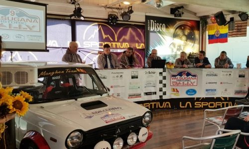 Presentato il 9° Valsugana Historic Rally.