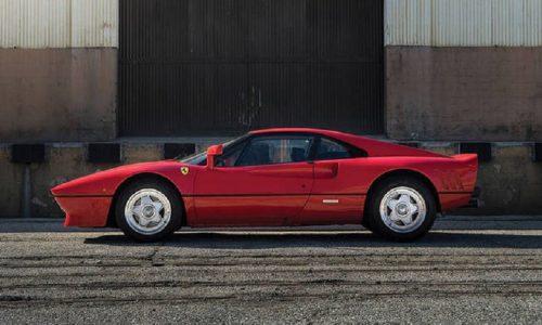 Rubata la 288 GTO appartenuta ad Eddie Irvine