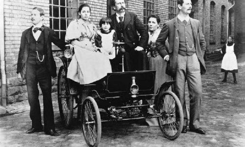 125 anni fa il Velocipede di Mercedes.