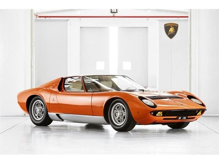 Certificata la Lamborghini Miura di The Italian Job