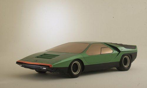 """La concept car Carabo sfila al concorso """"Chantilly Arts & Elegance Richard Mille""""."""