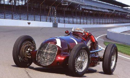 Maserati celebra 80mo anniversario vittoria 8CTF a Indy 500