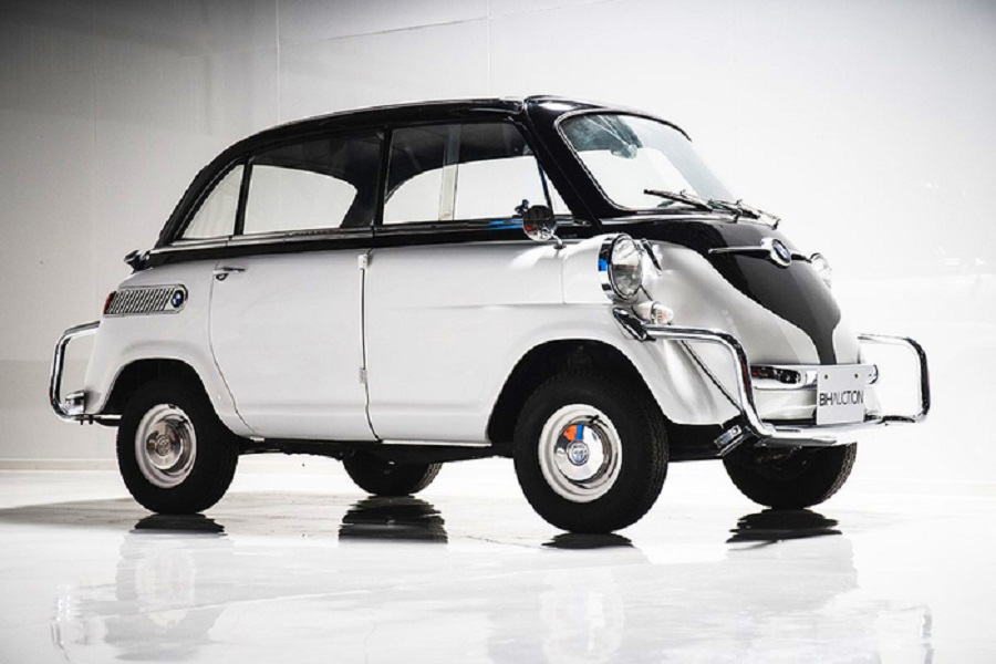Bmw Isetta 600, all'asta a Tokyo rara anti-Fiat del 1957.