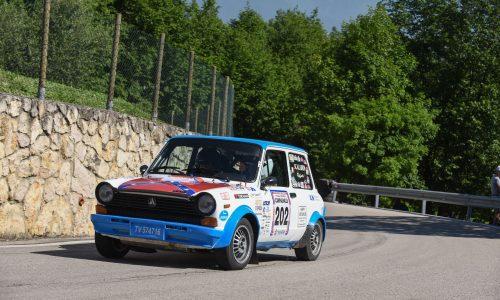 Scalabrin e Paganoni si aggiudicano la gara della scorpioncine al Rally Campagnolo