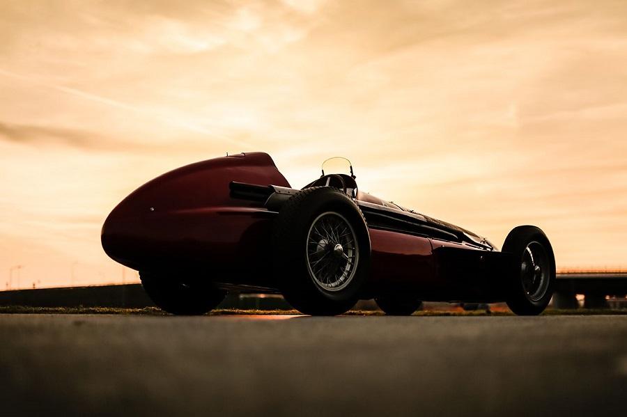 Alfa Romeo GP Tipo 159 Alfetta al GP di F1 in Gran Bretagna.