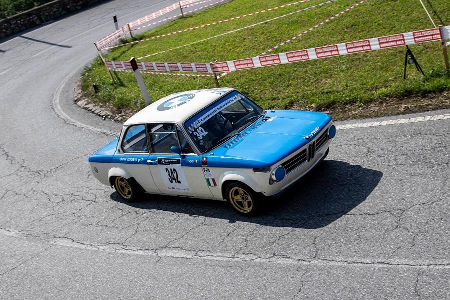 Anche le vetture storiche protagoniste al 49° Trofeo Vallecamonica.