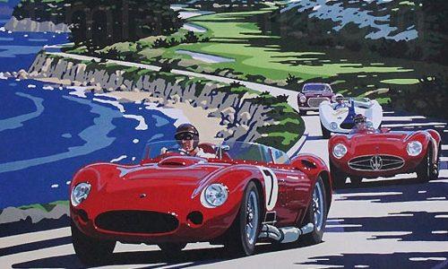 Eventi Monterey e Pebble Beach, 'green carpet' per auto top
