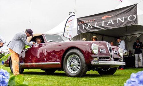 Concorso Italiano, l'evento 'tricolore' alla Monterey Week.