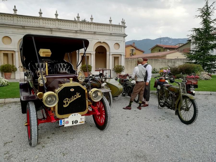 Conclusa la Settimana Motoristica Bresciana 2019 con la sfilata delle centenarie.