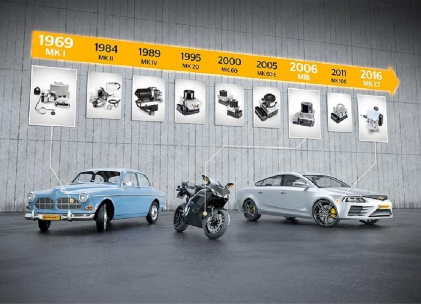 Continental, 50 anni fa a Francoforte la premiere dell'ABS