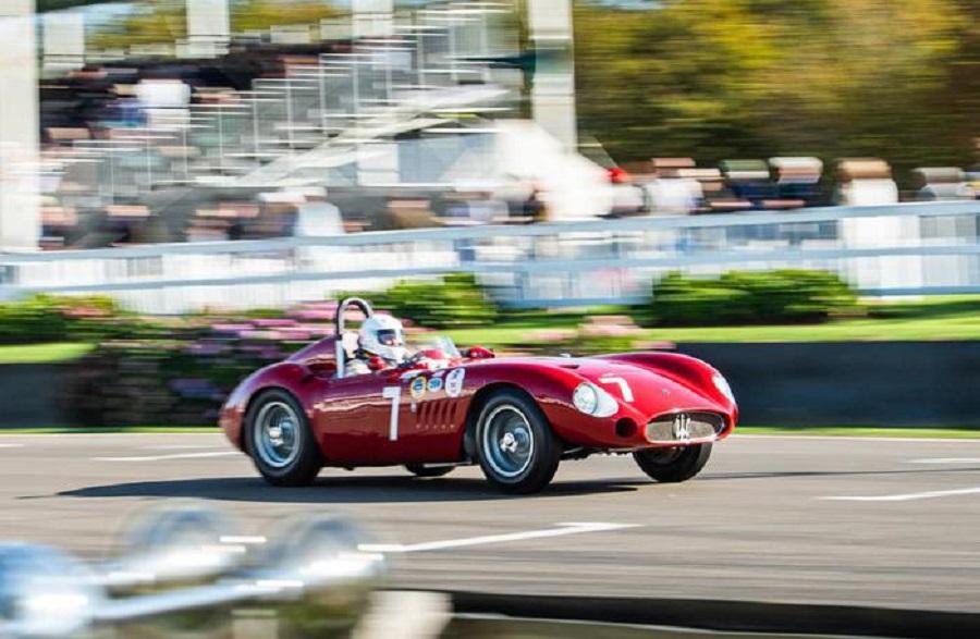 Maserati di ieri e di oggi superstar al Goodwood Revival.