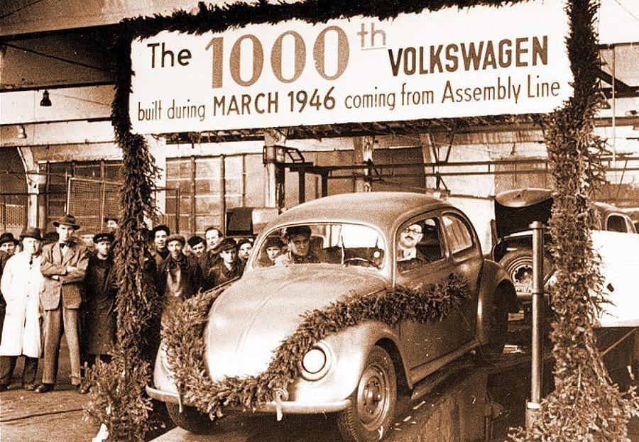 Attuale Volkswagen nasce nel '49 grazie a Jeep e Esercito GB.