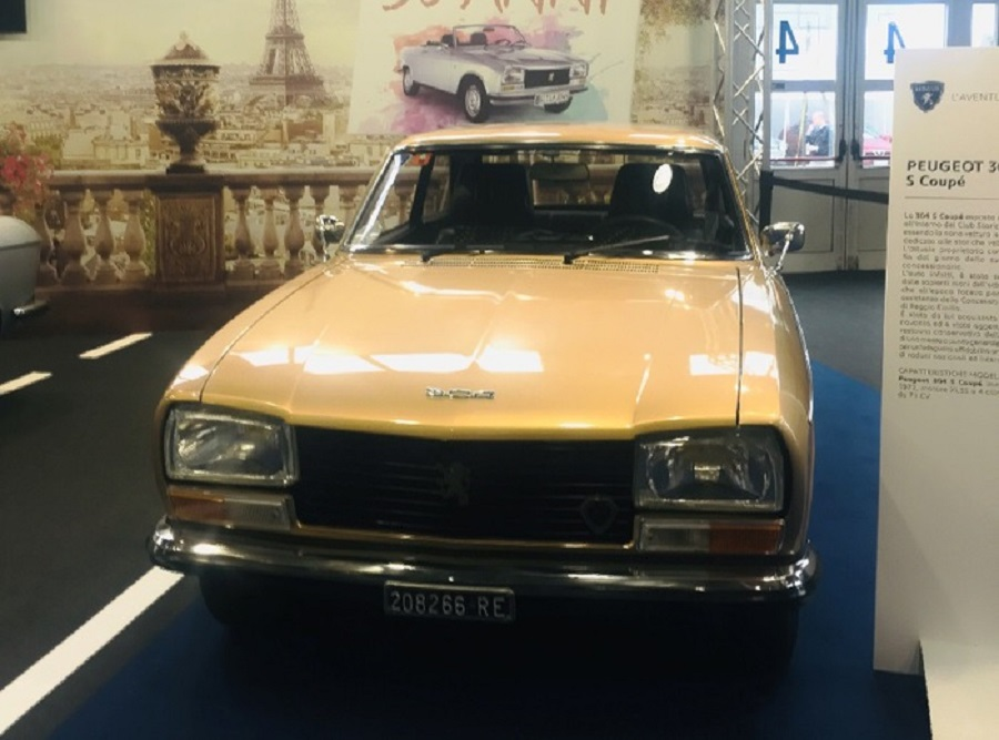 Salone Padova, Peugeot 304 festeggia mezzo secolo in fiera.