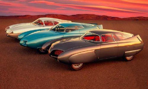 Bertone BAT, riunite a Londra le tre Alfa concept 5, 7 e 9.