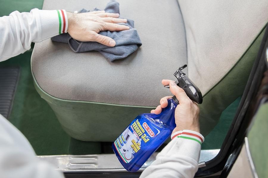 La soluzione di MaFra per curare la tappezzeria delle auto d'epoca.