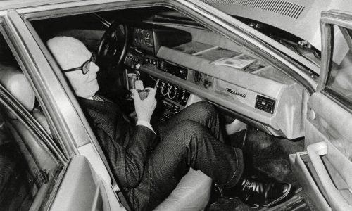 Maserati Quattroporte presentata 40 anni fa a Sandro Pertini.