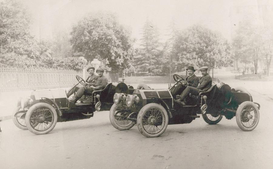 All'ombra dei grandi. De Vecchi e altri pionieri dell'automobile a Milano.