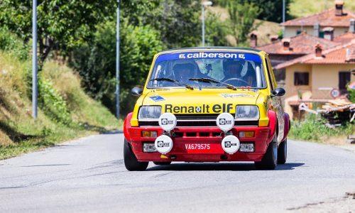 L' Historic Rally Vallate Aretine festeggia il decimo anno.
