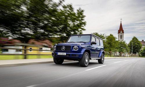 La Mercedes G-wagon passa i 40 anni.