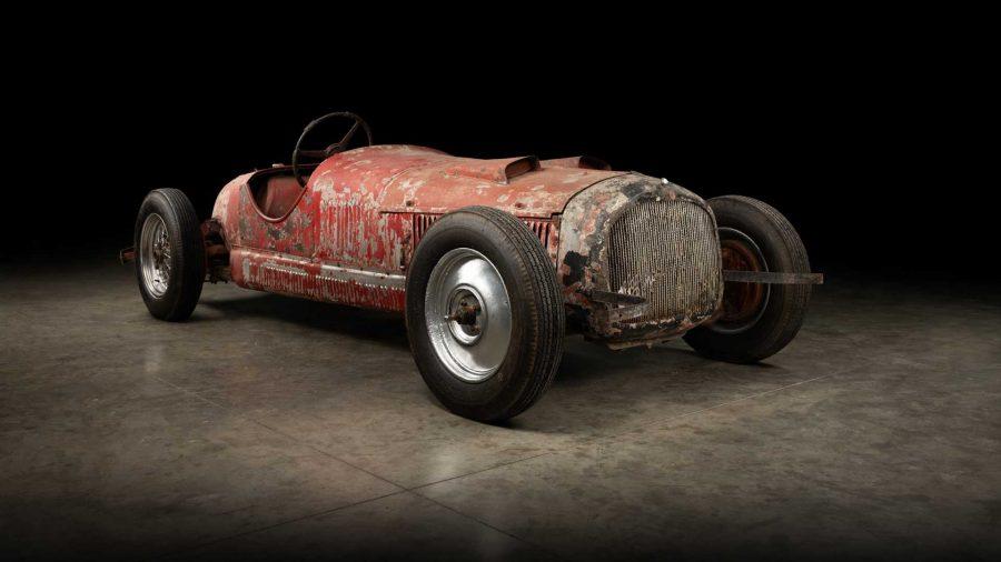 In restauro l'Alfa Romeo 6C 1750 SS di Mussolini.