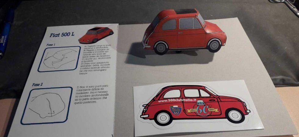 I miti dell'auto in modellini di carta da stampare e montare a casa.