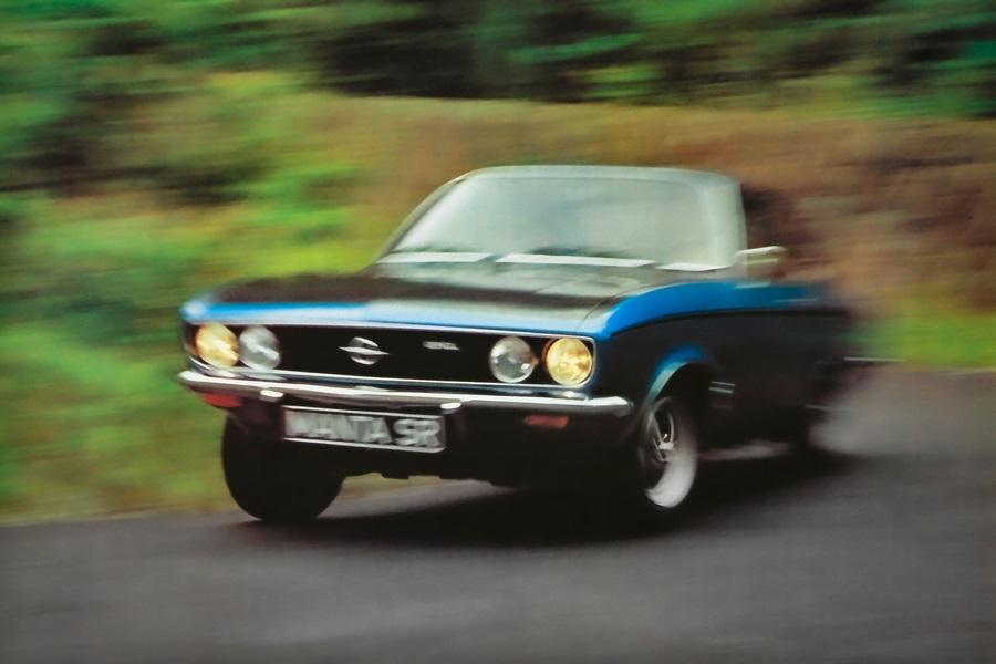 Spegne 50 andaline la Opel Manta!