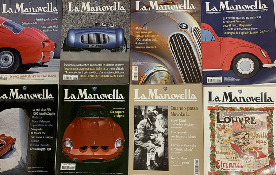 """La Manovella"" dell'ASI ora è on-line in forma gratuita."