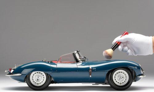 Una strepitosa Jaguar XKSS in scala 1: 8.
