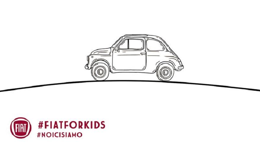 #fiatforkids: Fiat lancia il Colorbook della 500, pensando ai più piccoli