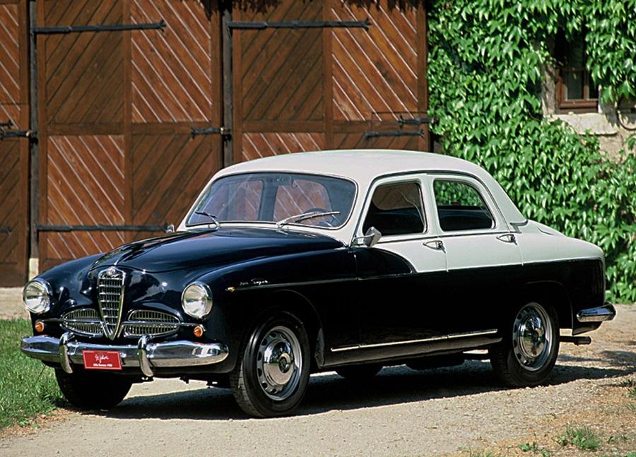 Alfa 1900, l'auto di famiglia che vince le corse ha 70 anni