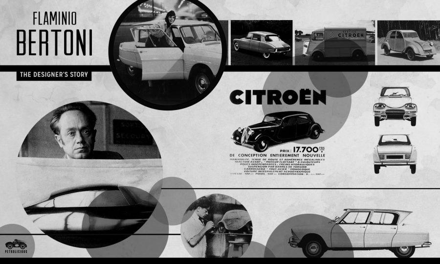La firma di Bertone nella storia dell'auto di casa Citroen.