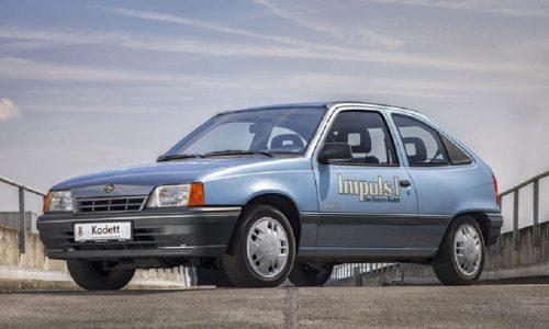 Compie trent'anni la Opel Kadett elettrificata!