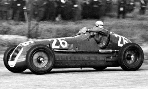 Maserati Festeggia l'80° della vittoria di Gigi Villoresi sulle strade della Targa Florio.