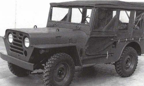 Peugeot 203 Rurale, il fuoristrada progettato e mai prodotto.