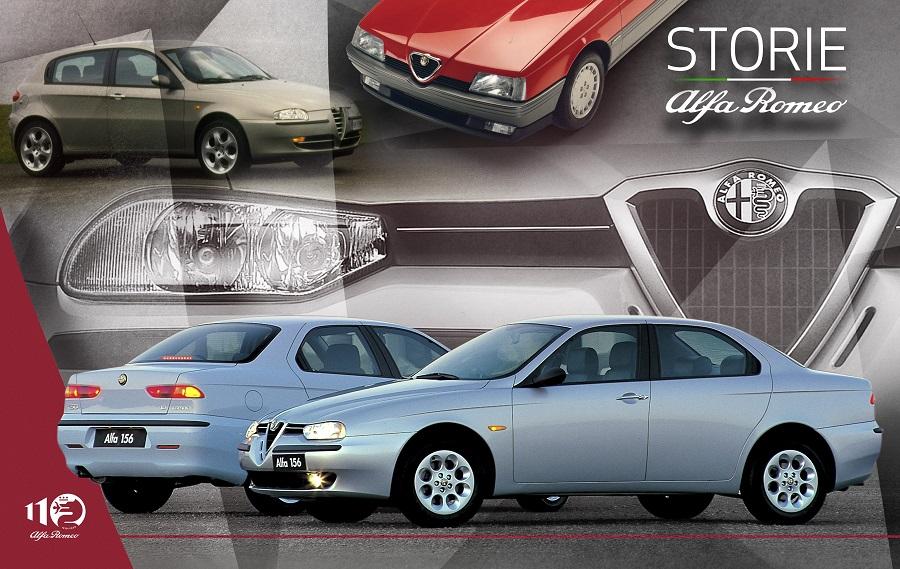 """""""Storie Alfa Romeo"""", ottava puntata – design, sportività e innovazione: la 156 è un'autentica Alfa Romeo di grande successo."""
